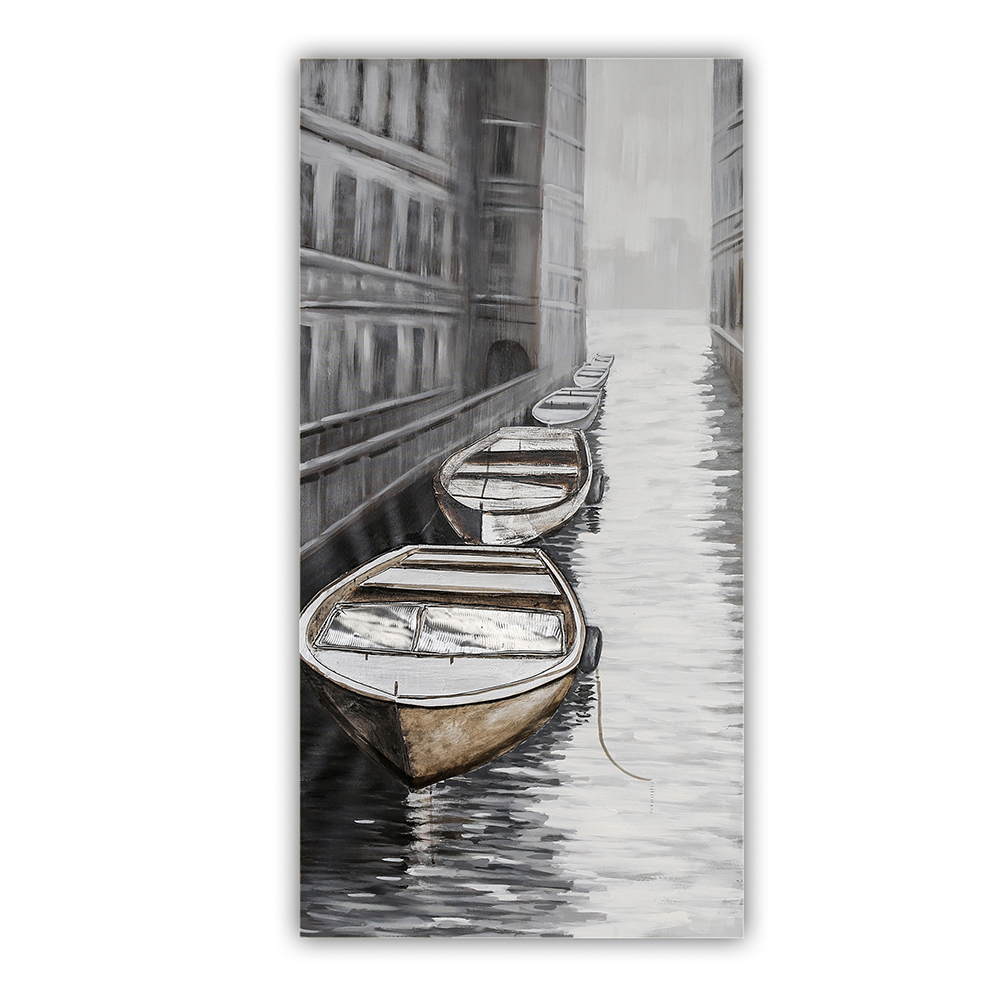3D obraz Benátky 150 cm, olej na plátně