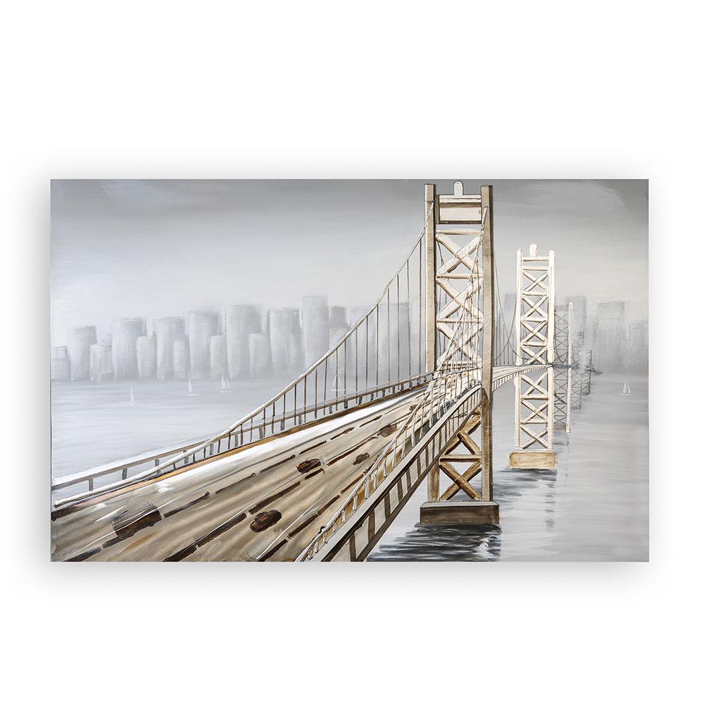 3D obraz Bridge 150 cm, olej na plátně
