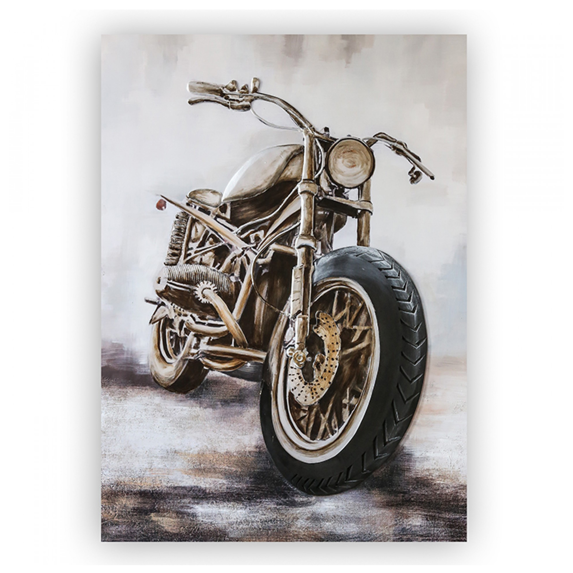 3D obraz Custombike 150 cm, olej na plátně