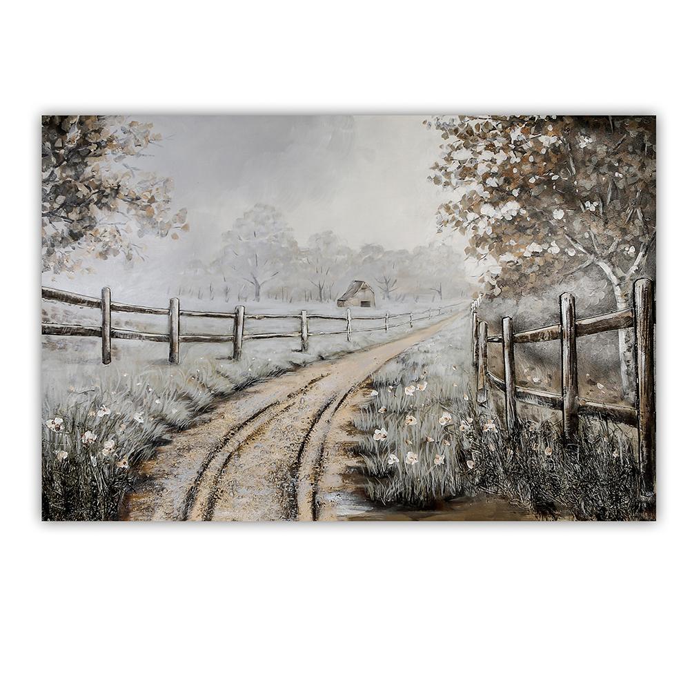 3D obraz Fields 150 cm, olej na plátně