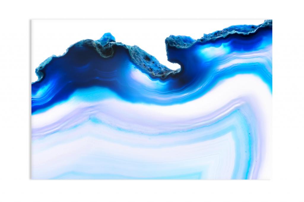 Abstraktní obraz Kouzlo achátu, 180x90 cm