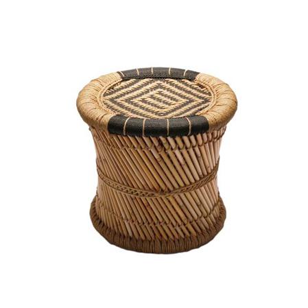 Bambusová stolička Bombay, 40 cm