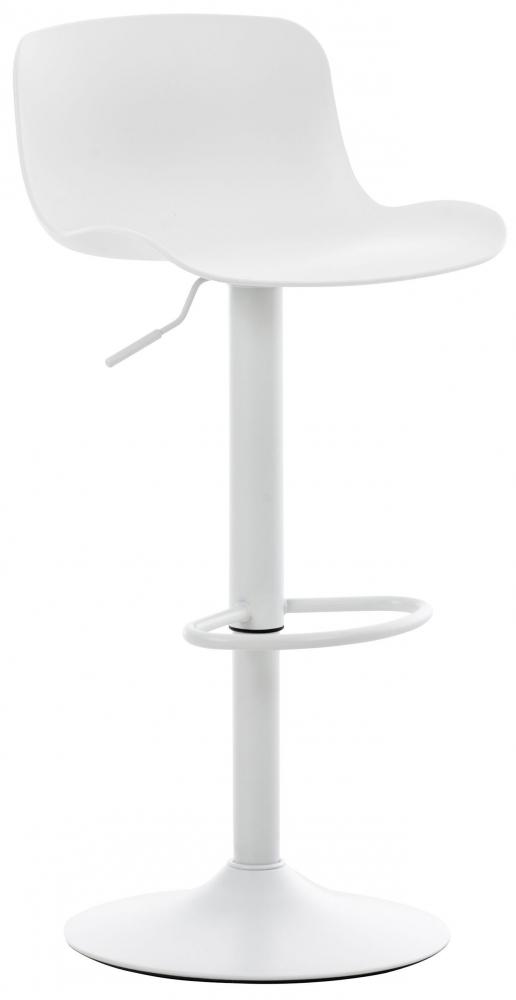 Barová židle Alma, bílá