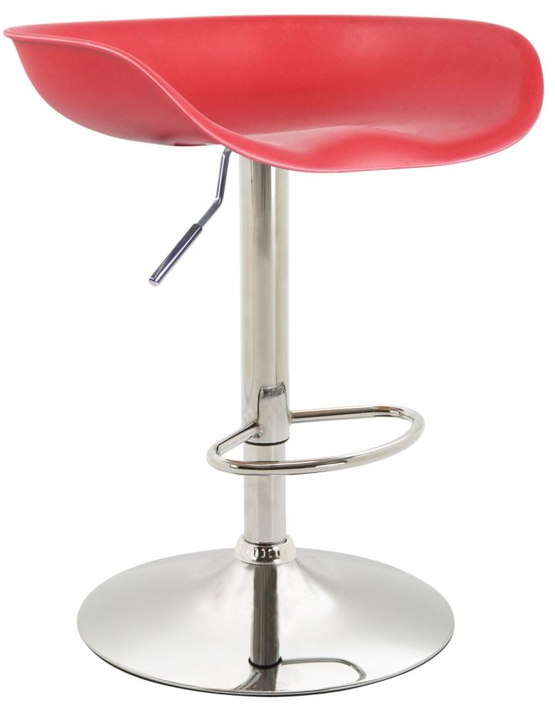 Barová židle Anaheim, červená