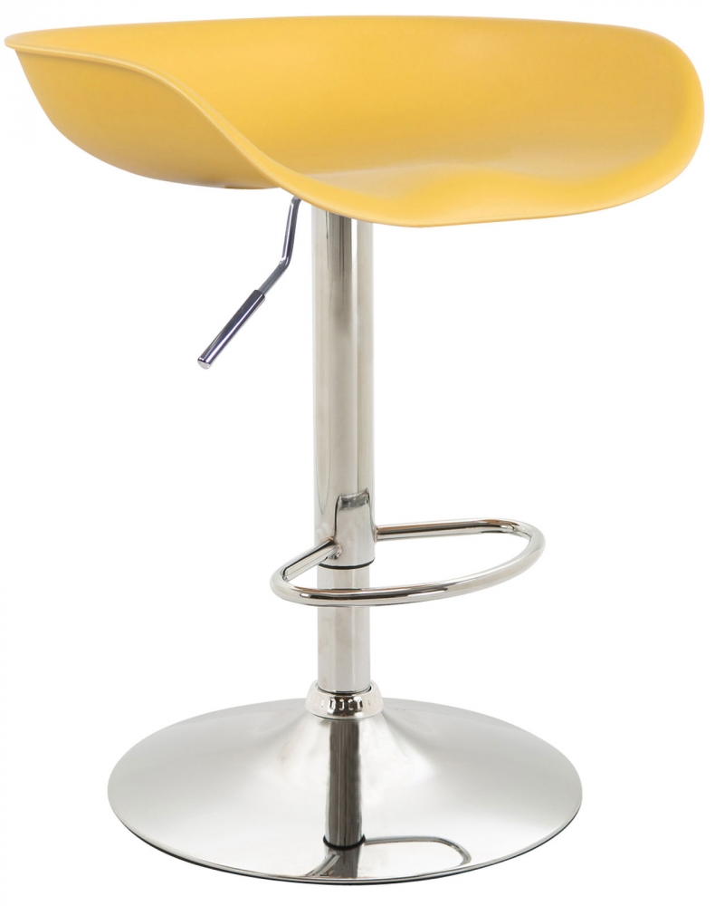 Barová židle Anaheim, žlutá
