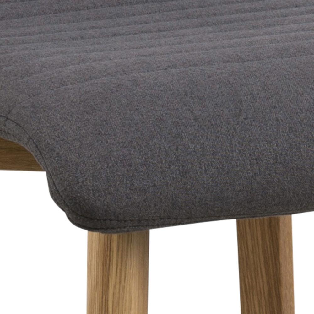 Barová židle Areta (SET 2 ks), antracit