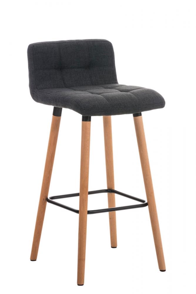 Barová židle Areta, tmavě šedá