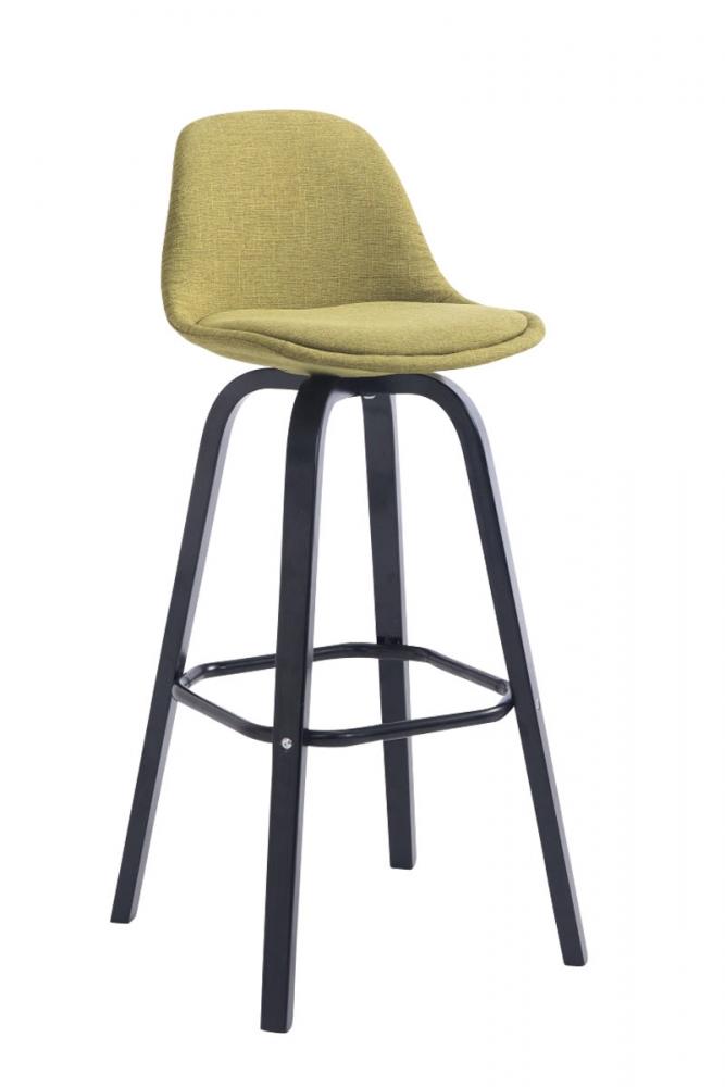 Barová židle Aris, světle zelená