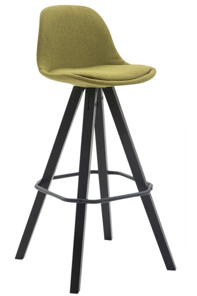 Barová židle Ariva, světle zelená / šedá