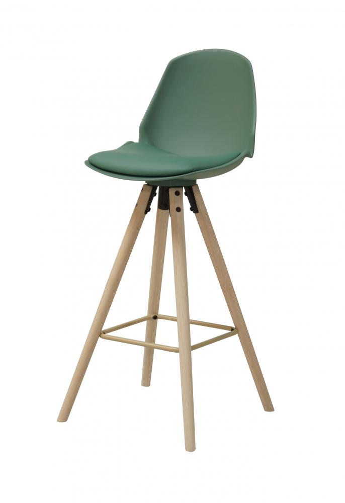Barová židle Aslo, olivová