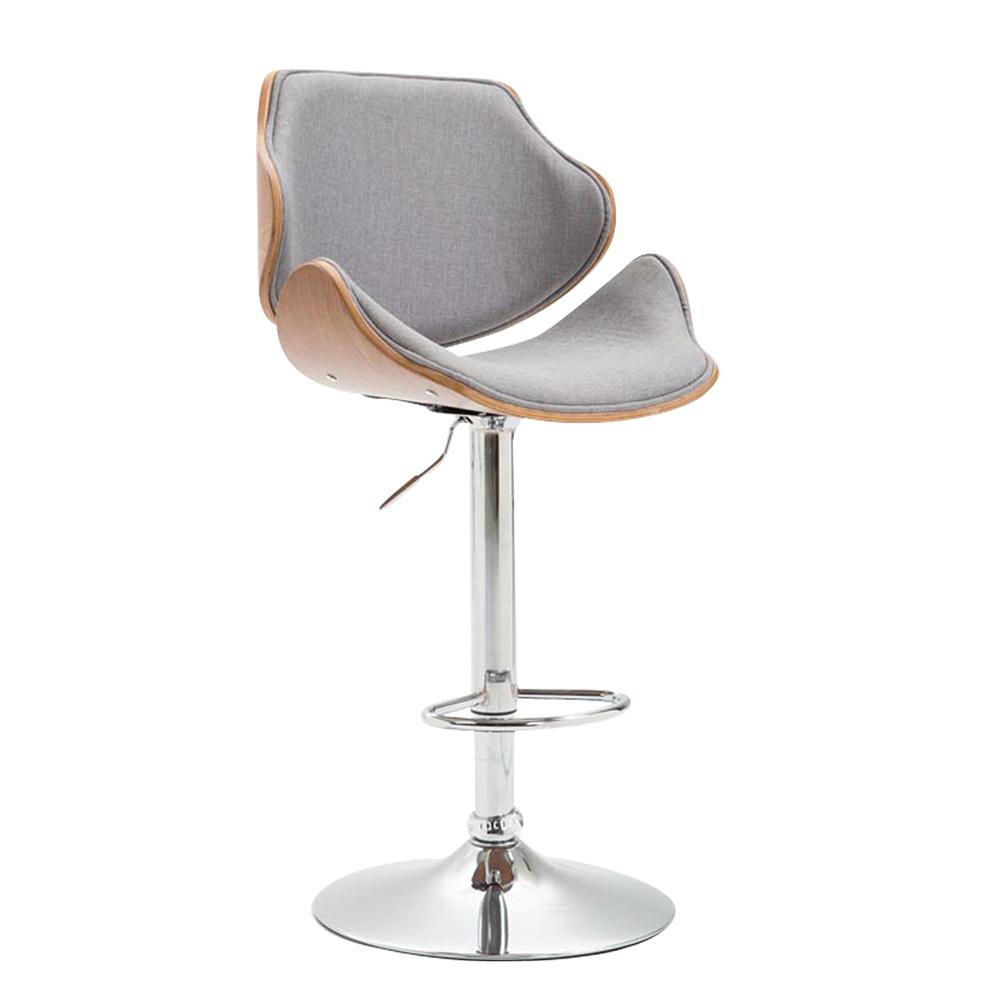 Barová židle Betlem textil, ořech