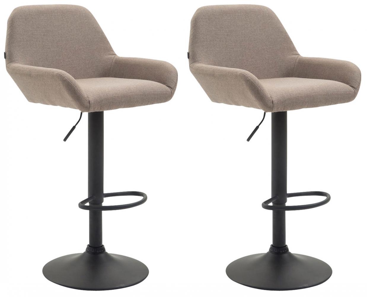 Barová židle Brag (SET 2 ks), béžová