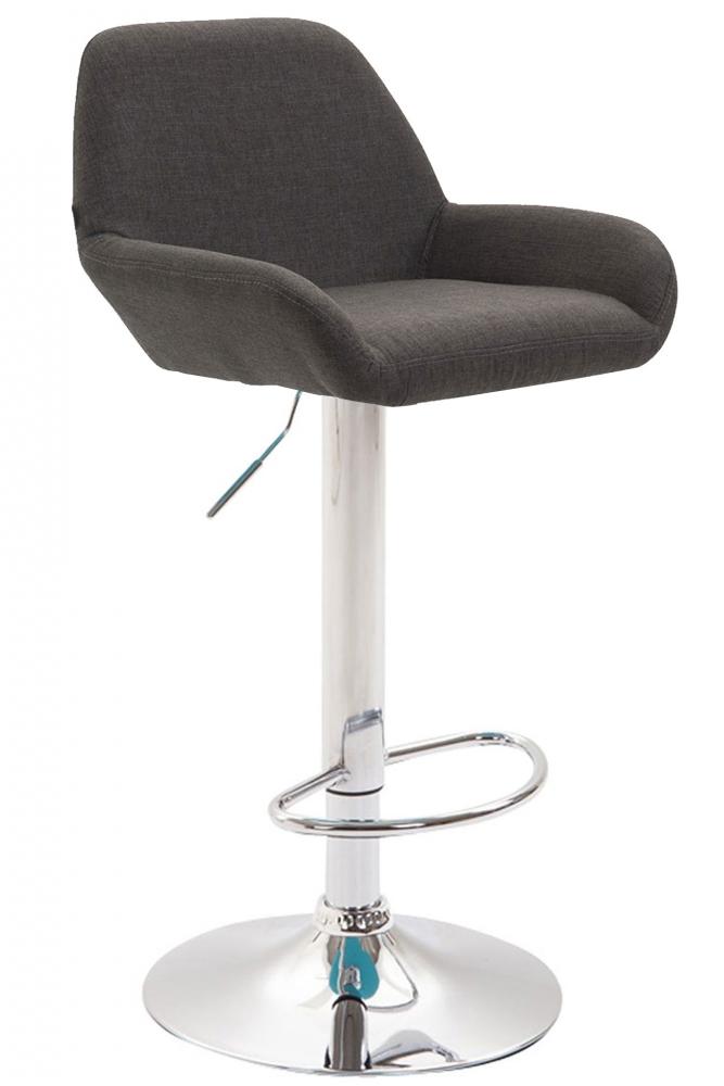 Barová židle Brag, tmavě šedá