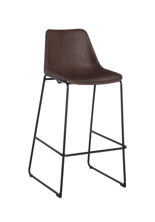 Barová židle Britain, vintage hnědá