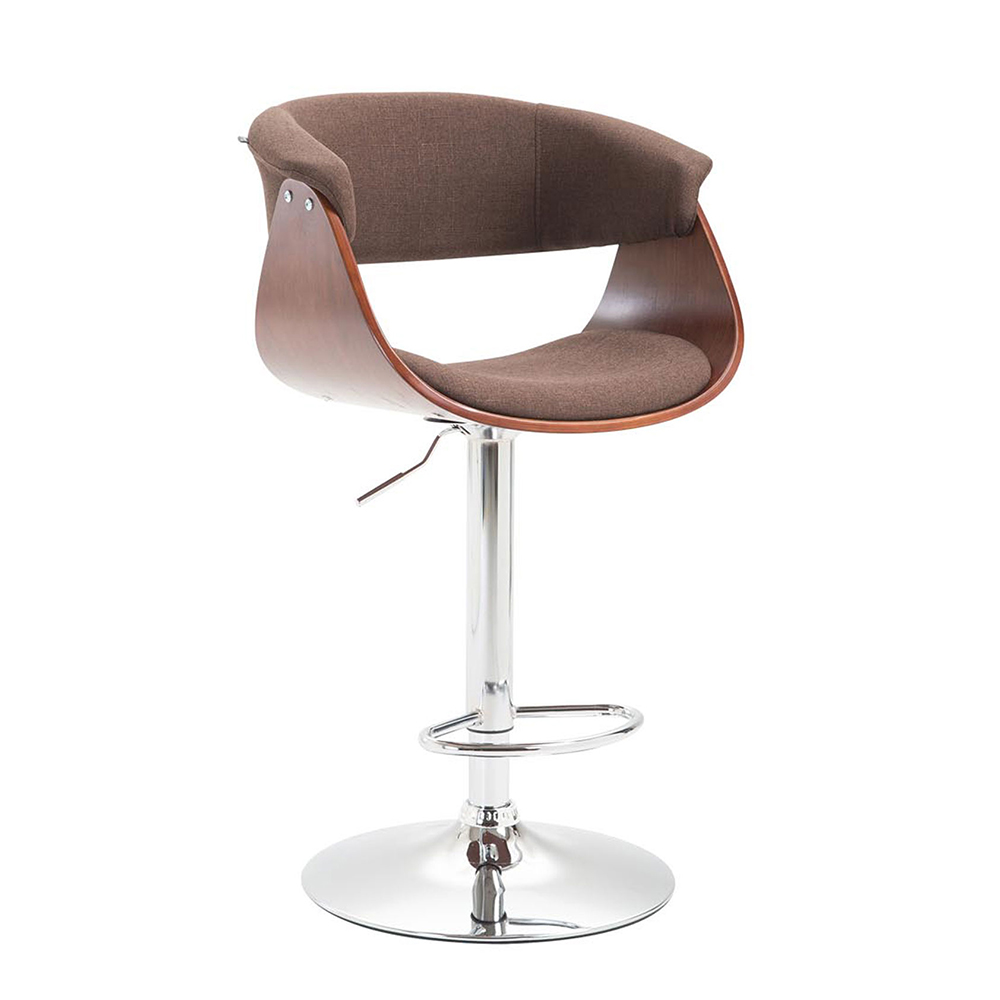 Barová židle Calais textil, coffee