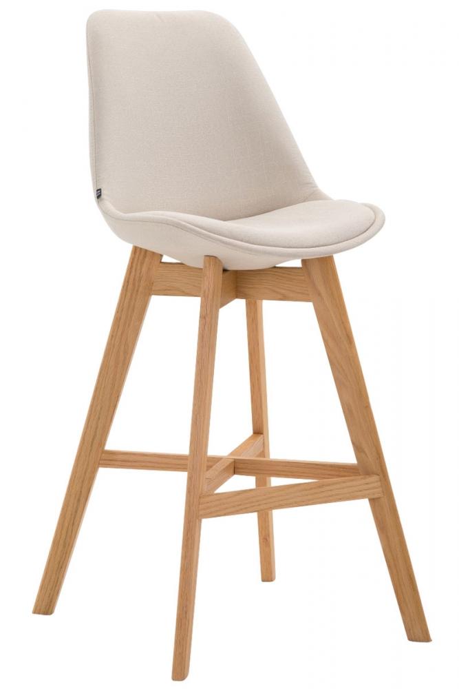 Barová židle Cane, krémová
