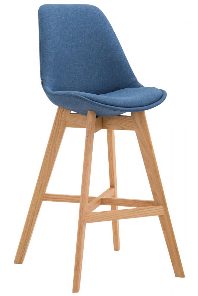 Barová židle Cane, modrá