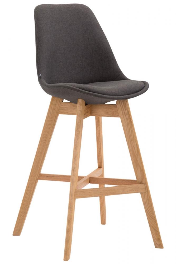 Barová židle Cane, tmavě šedá