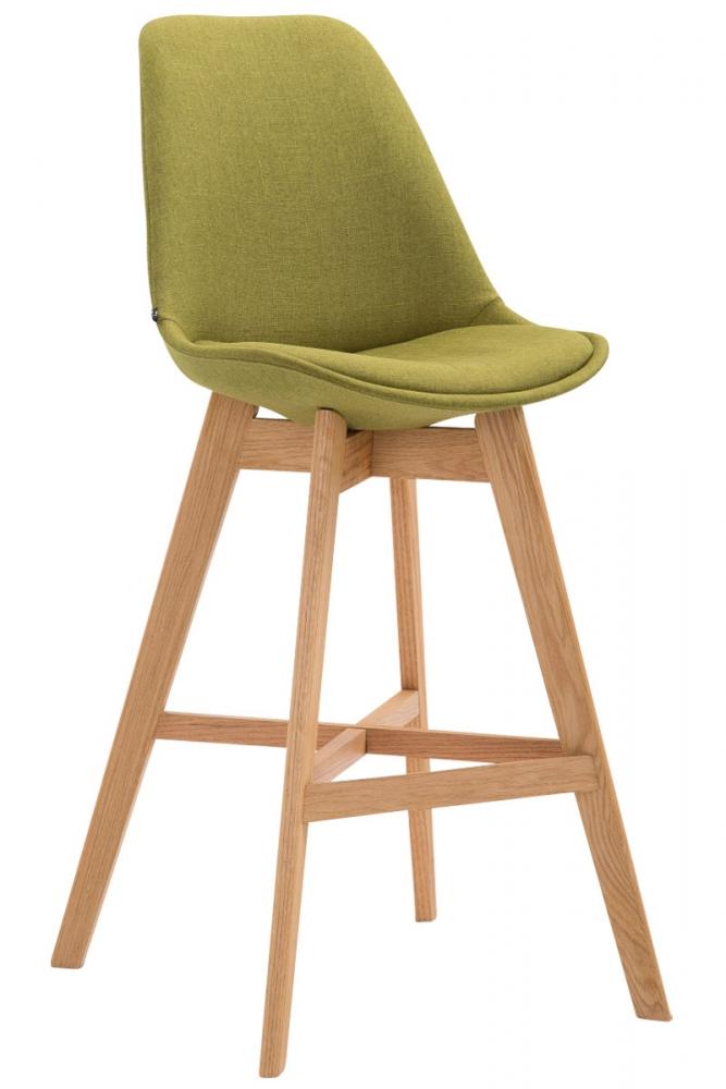 Barová židle Cane, zelená