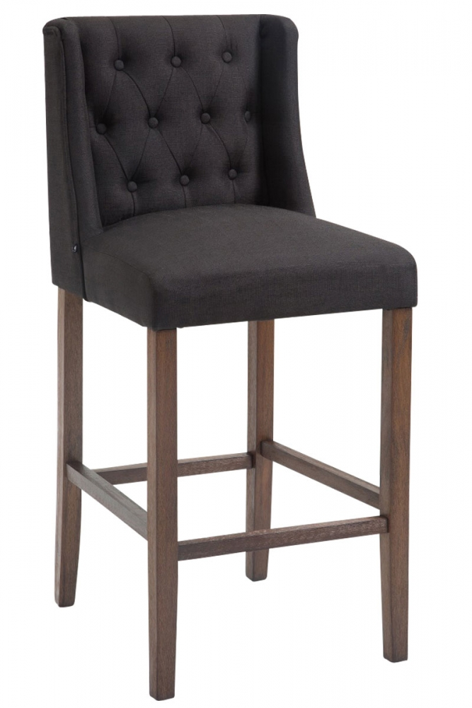 Barová židle Cassa I., černá