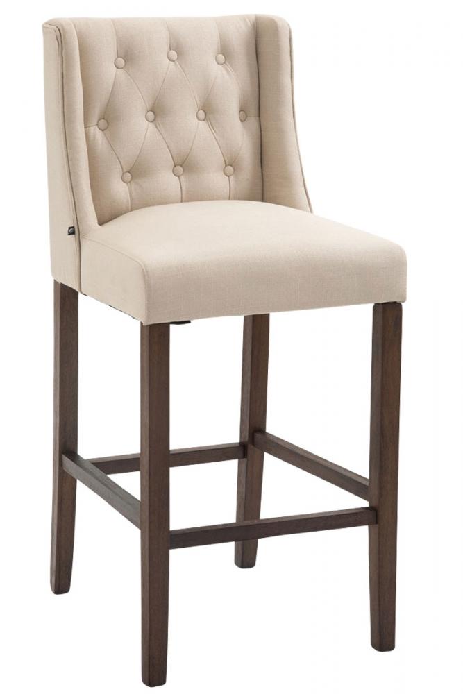 Barová židle Cassa I., krémová