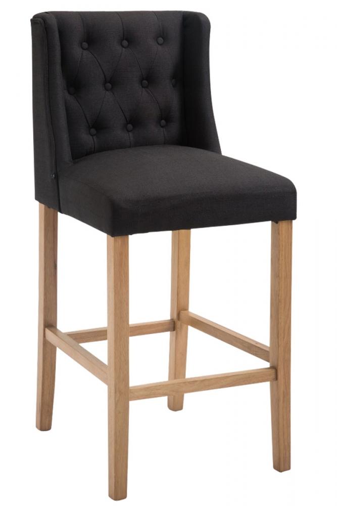 Barová židle Cassa II., černá