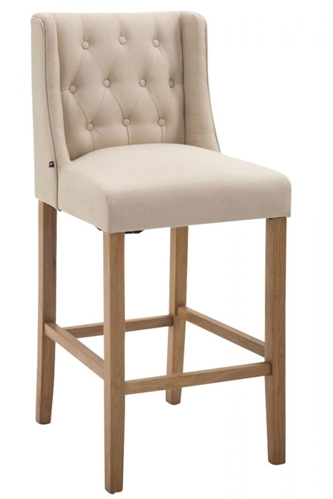 Barová židle Cassa II., krémová