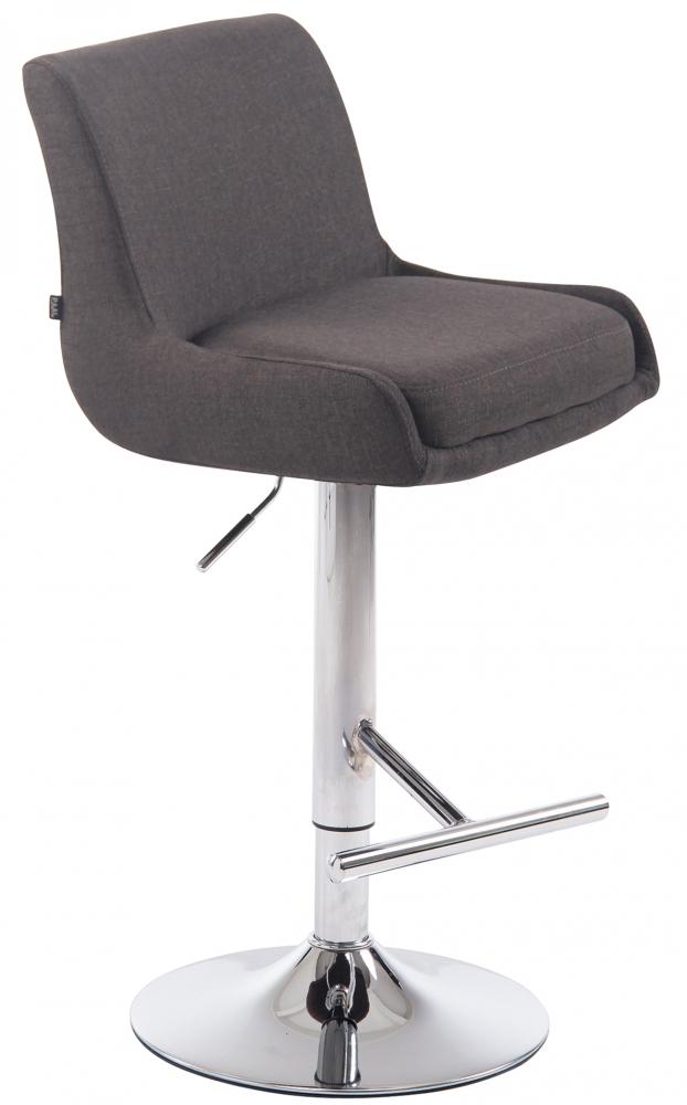 Barová židle Club, tmavě šedá