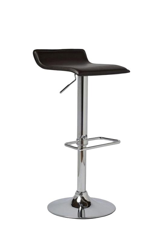 Barová židle Dean (SET 2 ks) černá