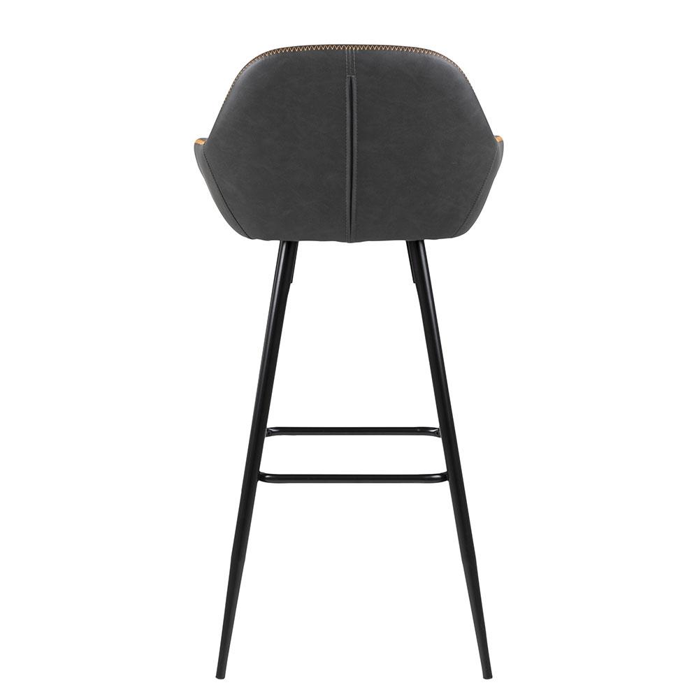 Barová židle Disca (SET2 ks), holubičí šedá