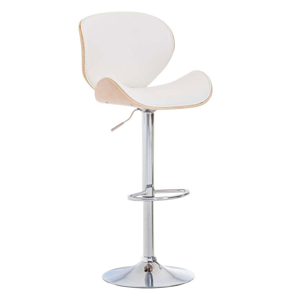 Barová židle Edward, bílá