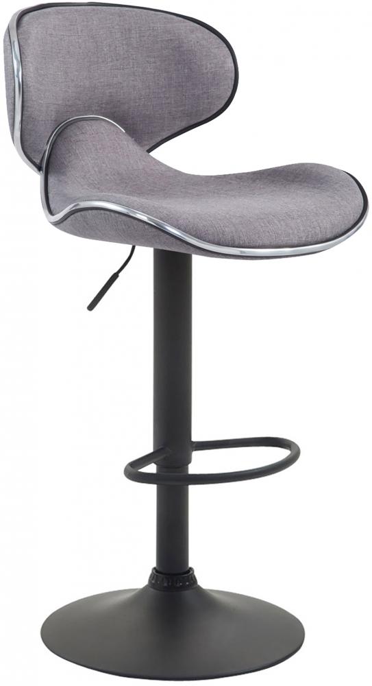 Barová židle Elisa, světle šedá