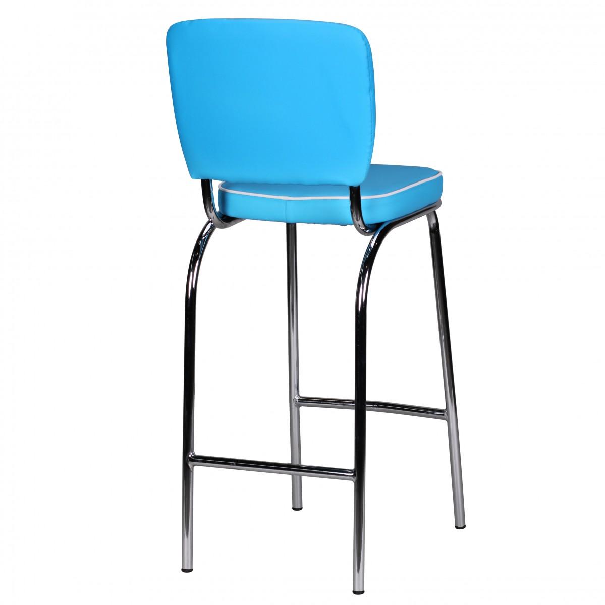 Barová židle Elvis, modrá