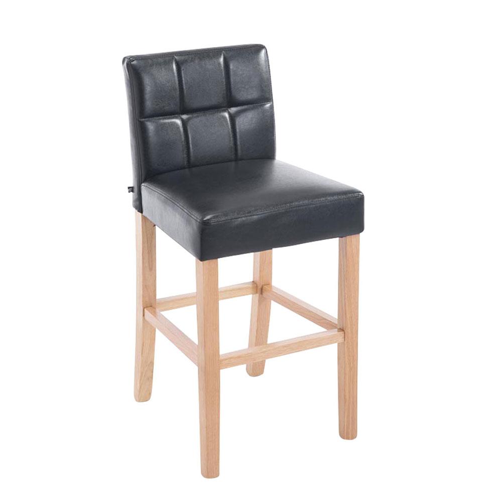 Barová židle Emanuel, černá