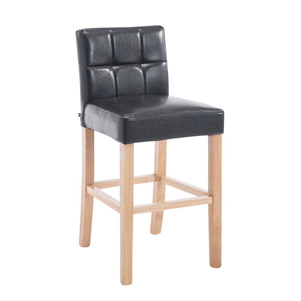 Barová židle Emanuel, hnědá