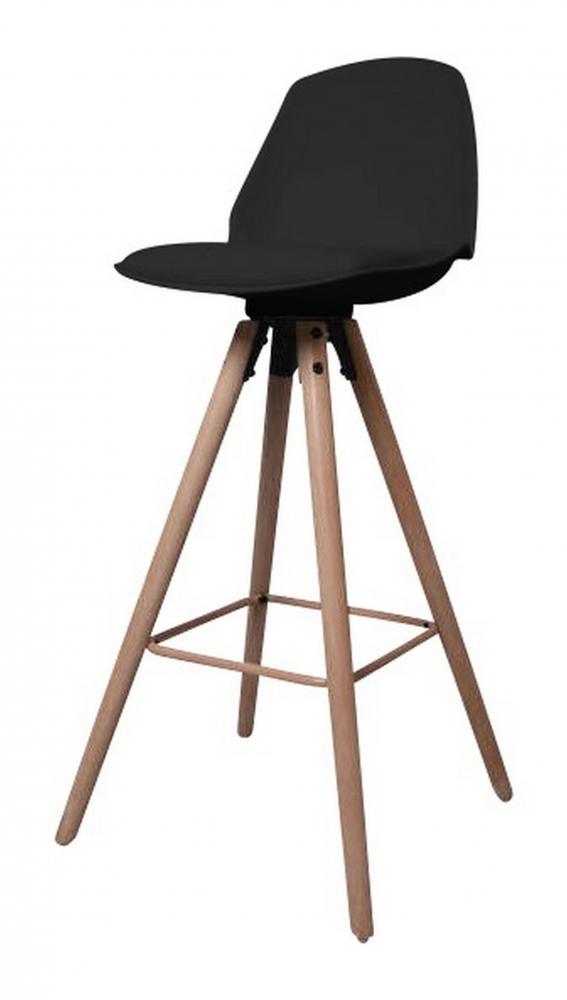 Barová židle Eslo, černá