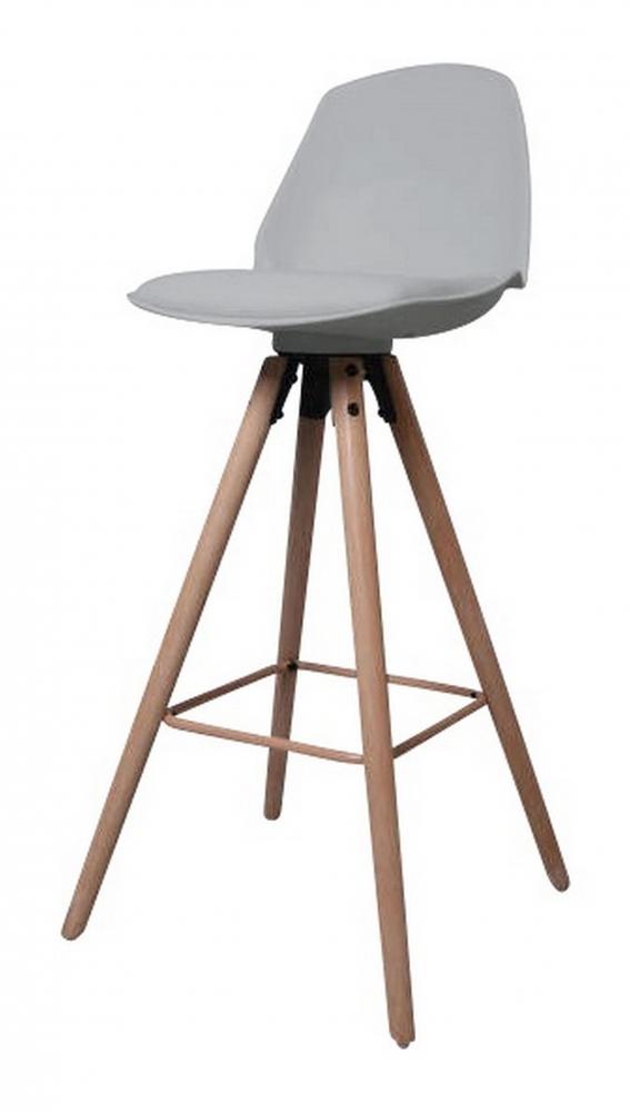 Barová židle Eslo, šedá