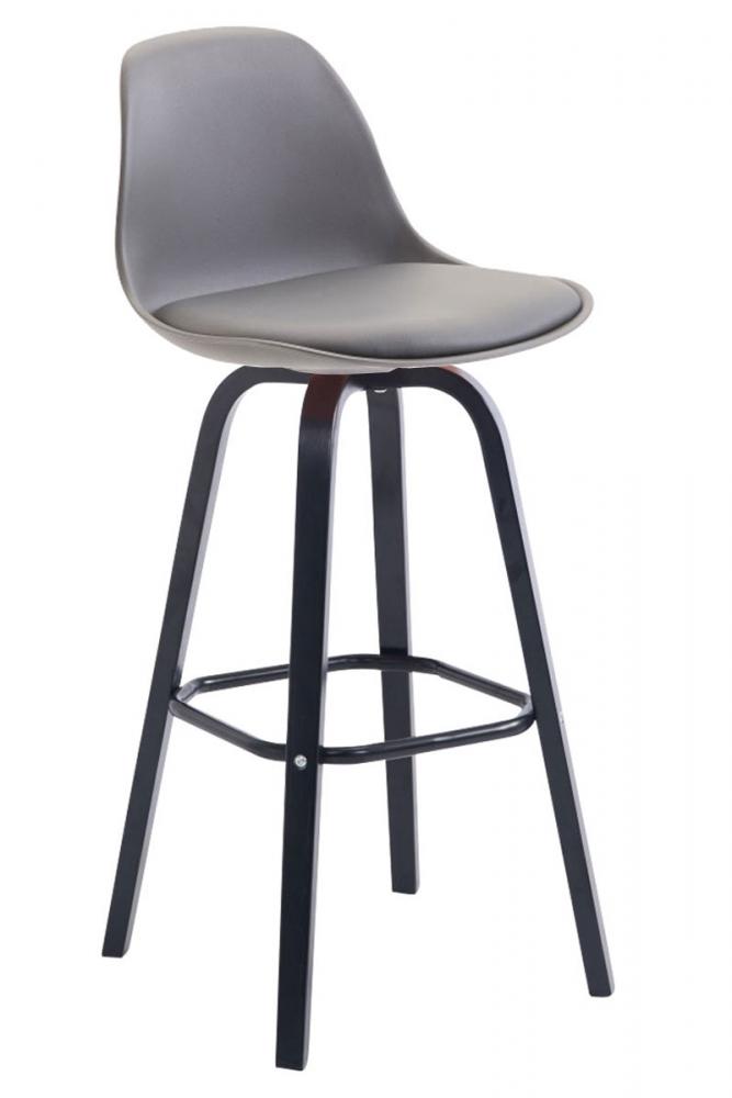 Barová židle Fatis, šedá / černá