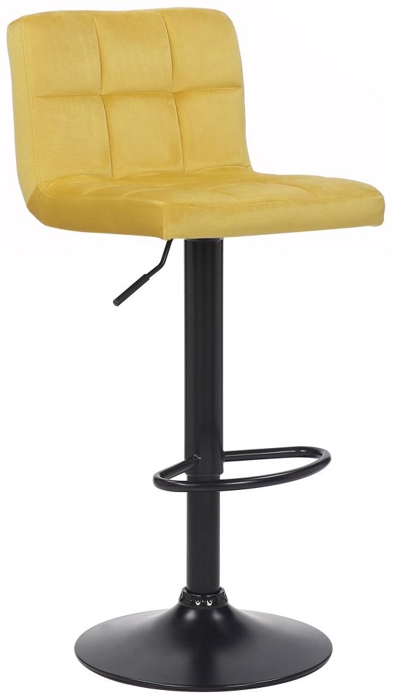 Barová židle Feni, žlutá
