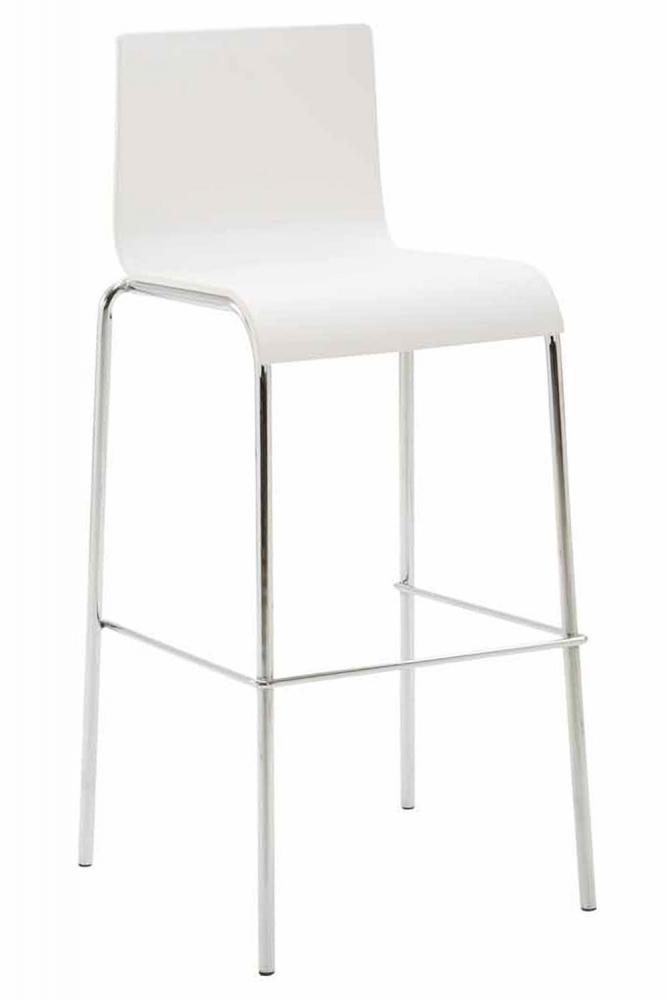Barová židle Filen, bílá