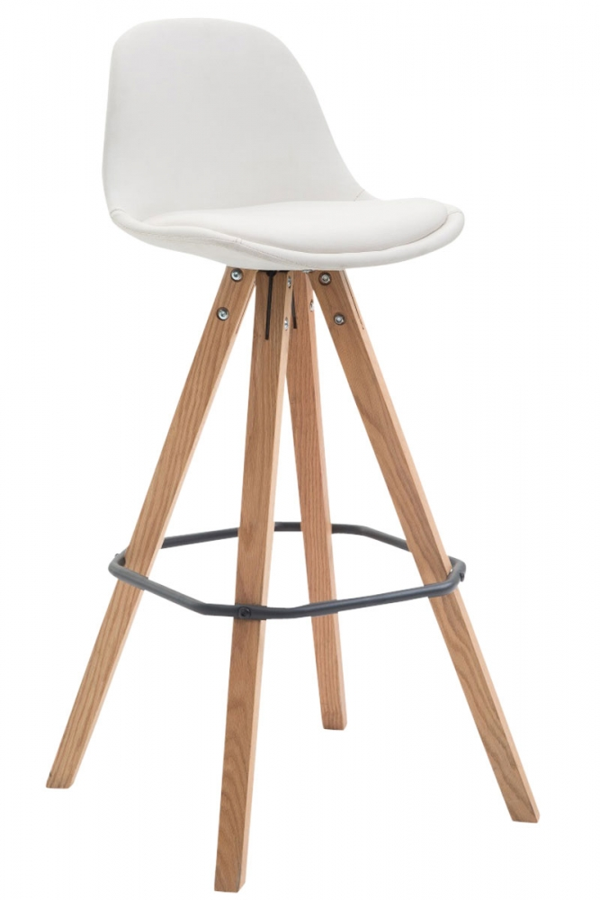 Barová židle Frank, bílá