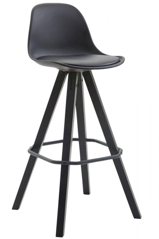 Barová židle Frank, černá