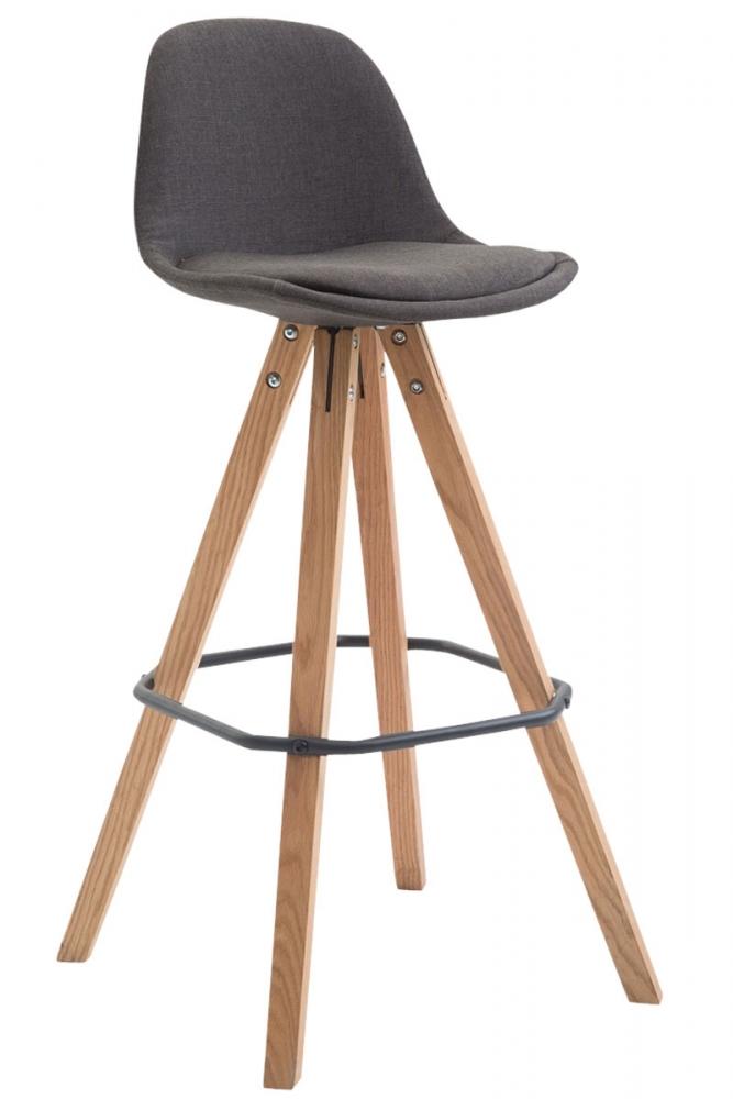 Barová židle Frank I., tmavě šedá