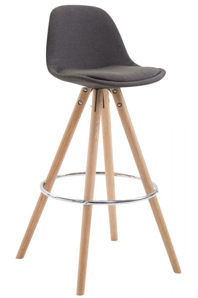 Barová židle Frank II., tmavě šedá