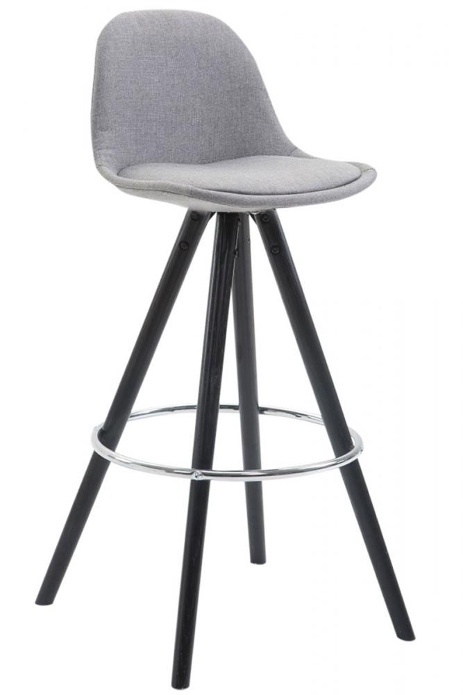 Barová židle Frank, šedá