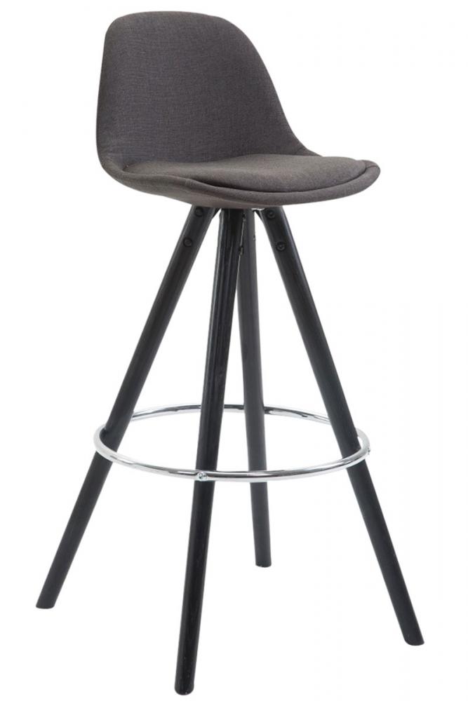 Barová židle Frank, tmavě šedá