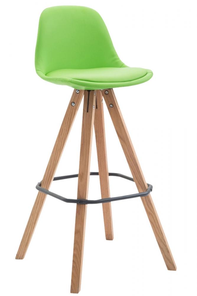 Barová židle Frank, zelená