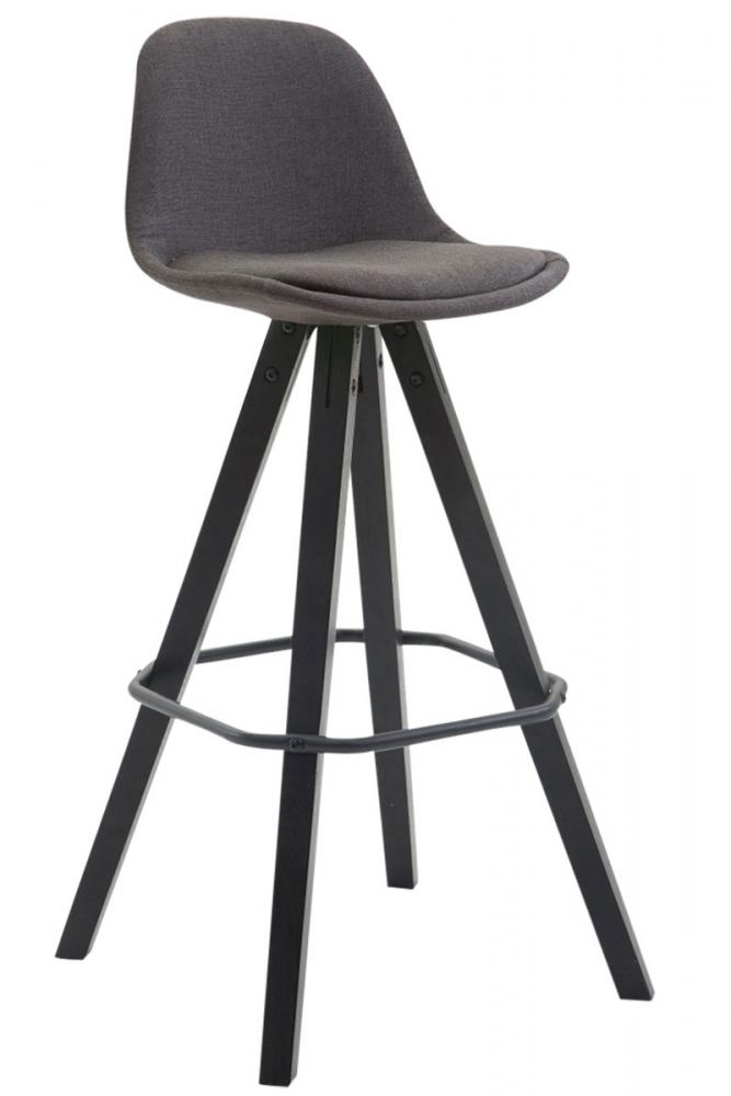 Barová židle Frankie, tmavě šedá