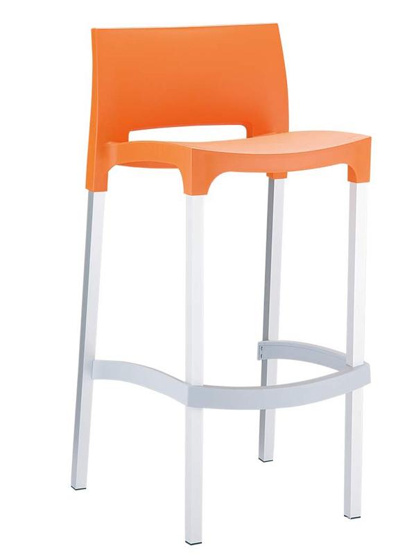 Barová židle Ginger černá
