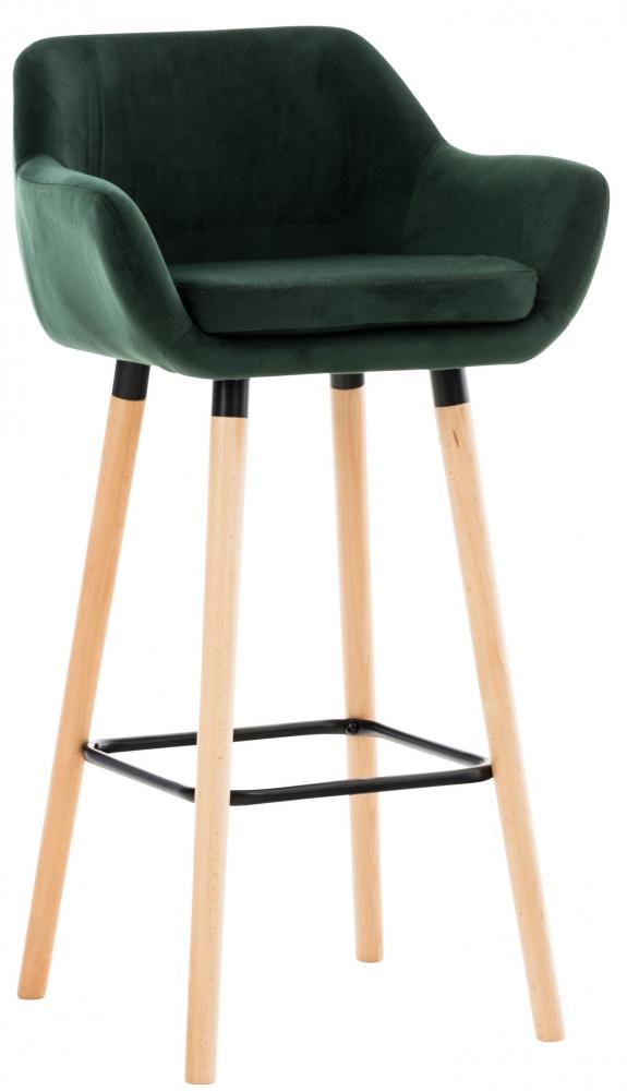 Barová židle Grant, zelená